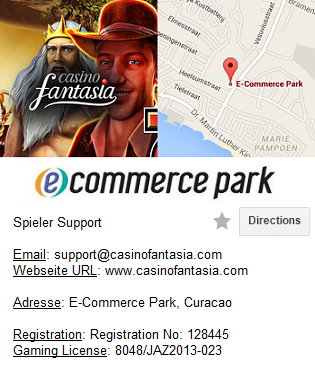 Casino Fantasia Information