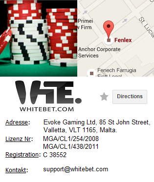 Whitebet Casino Information