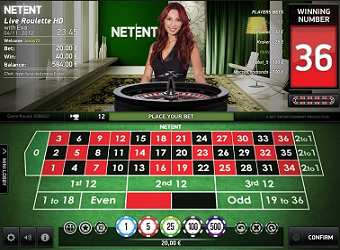 Live Roulette Net Entertainment