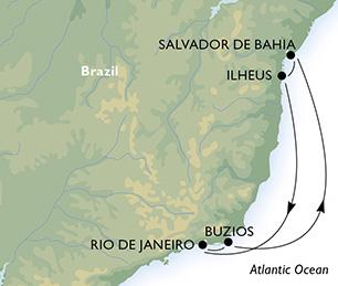 Casino Cruise Brasilien Kreuzfahrt