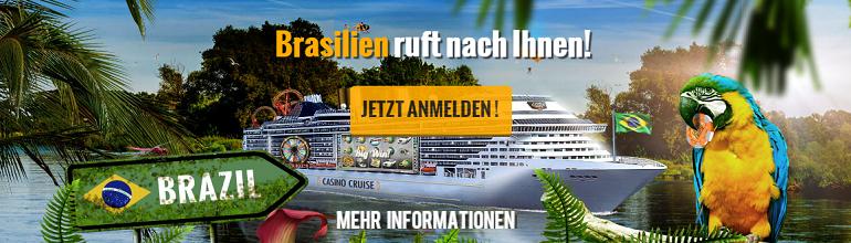 Brasilien Kreuzfahrt im Casino Cruise