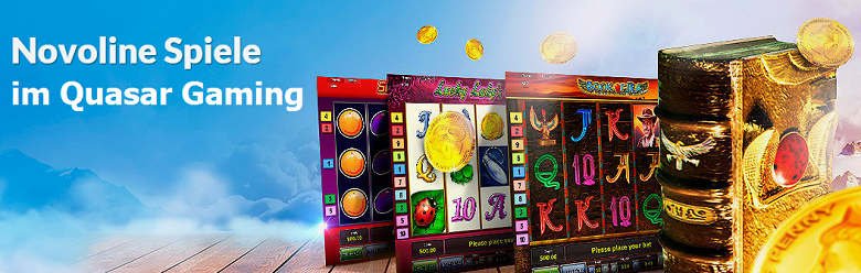 Novoline Spiele im Quasar Gaming