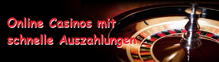 schnelle Auszahlungen, Online Casino, Zahlungsmethoden