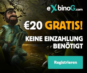 Exbino Games Gratis Bonus