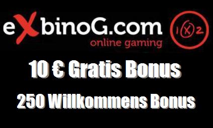 Novoline Bonus Exbino Games
