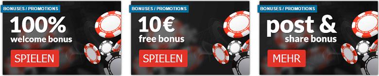 Exbino Casino Willkommens Bonus