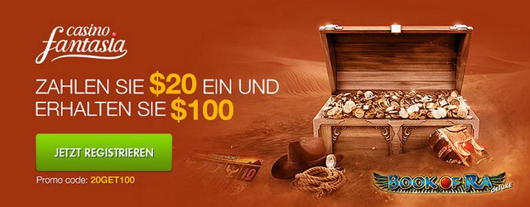 Bonus 20GET100 Casino Fantasia