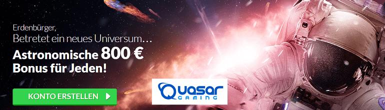 Quasar Bonus Novoline