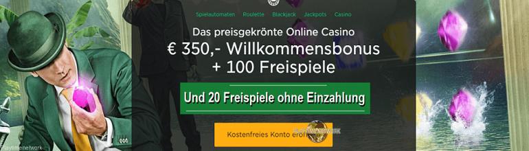 Mr Green 20 Freispiele Gratis Bonus