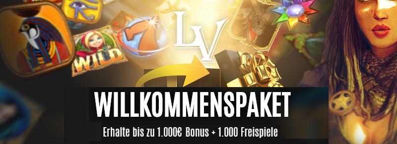 LVbet Casino Bonus Paket