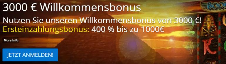 77 Jackpot Willkommens Bonus