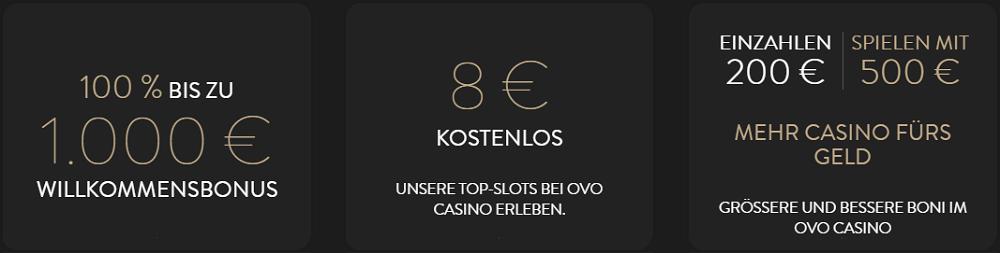 OVO Casino Novoline Gratis Bonus
