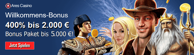 Ares Casino – Novoline Casino Alternative!