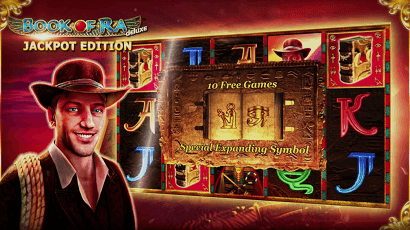 Novomatic Book of Ra Jackpot Edition Slot