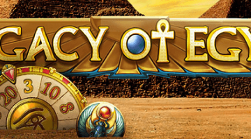 Legacy of Egypt – neu im LVbet Casino